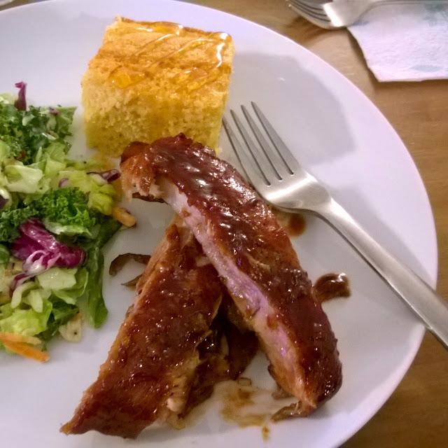 Crock pot pork spare ribs