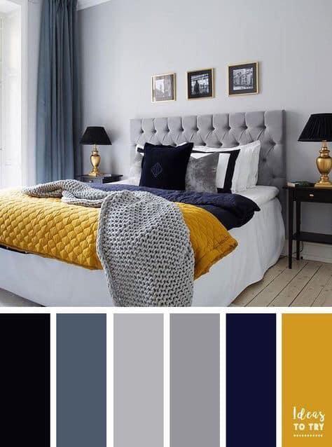 inspirasi kombinasi warna cat interior rumah minimalis