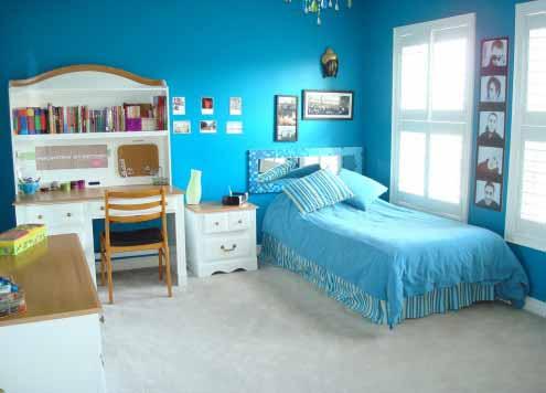 Furniture Minimalis Dekorasi Keren Kamar Tidur Remaja