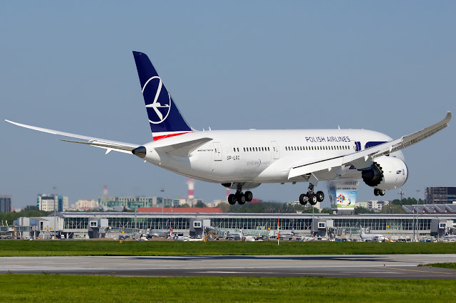 LOT Polish Airlines Boeing 787-8 Dreamliner