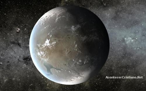Planeta vida como en la Tierra
