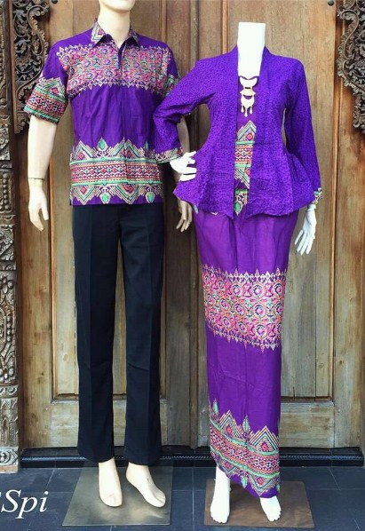 Koleksi Baju Muslim Batik Sarimbit Modern untuk Ke Acara ...