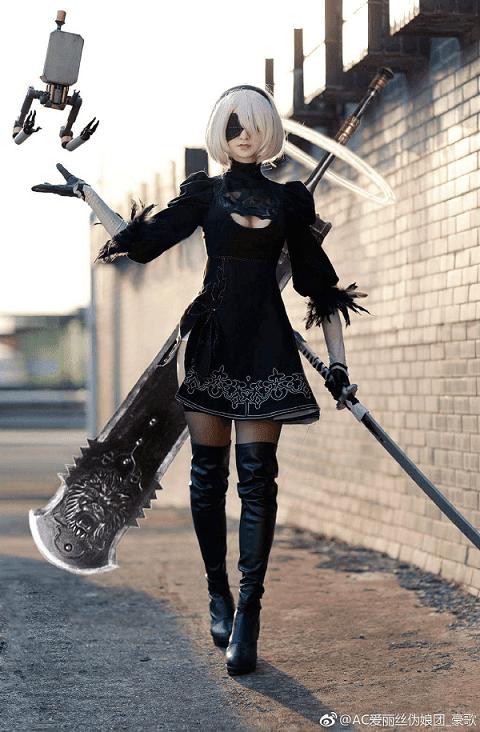 2b cosplay nier automata