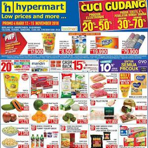 Katalog Promo HYPERMART Awal Pekan Weekday 12 - 15 November 2018