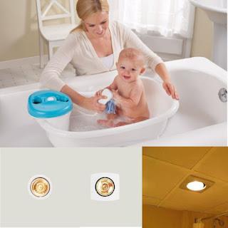 Đèn sưởi âm trần phòng tắm Milor