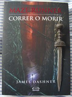 Portada del libro Maze Runner. Correr o morir, de James Dashner