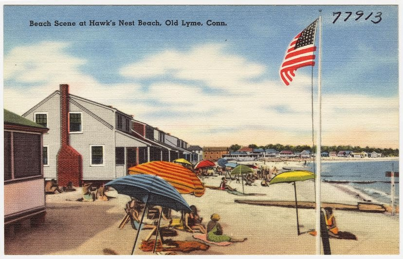 To The East Of Sound View Was Old Colony Beach A Community Cottage Owners Who Were Mostly Jewish Ethnicity And Although They Also Frequented