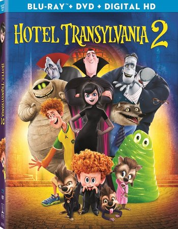 Hotel Transylvania 2 (2015) Dual Audio 720p