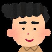 男性の顔アイコン 12