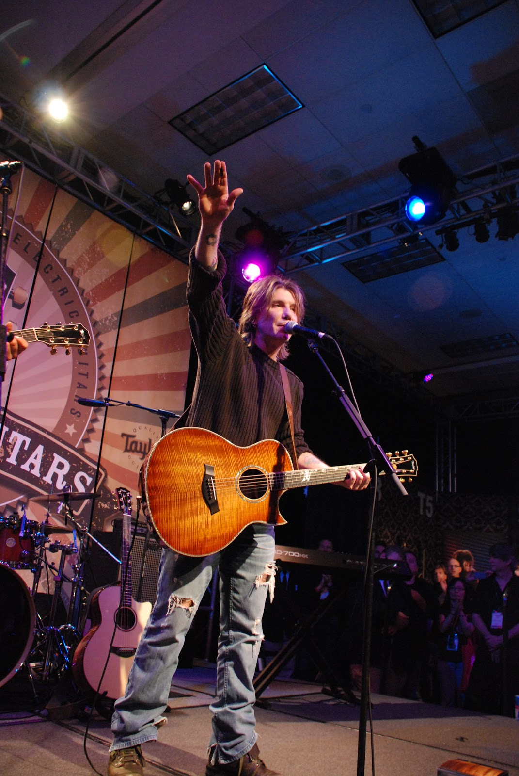 Music Minded: NAMM 2012: Day 3 featuring Goo Goo Dolls' John