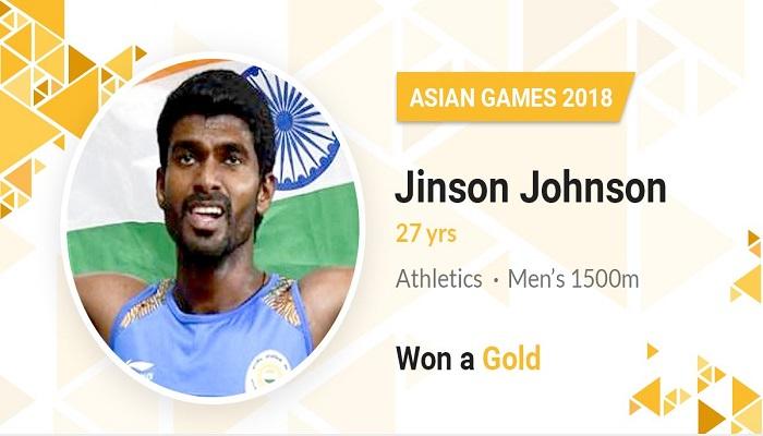 ஆசிய விளையாட்டுப் போட்டி: 1500 மீட்டர் ஓட்டப் போட்டியில் தங்கம் வென்றார் இந்திய வீரர்!