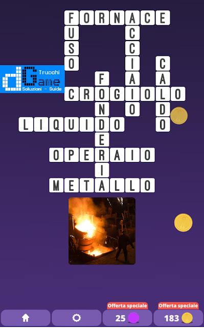 Soluzioni One Clue Crossword livello 18 schemi 11 (Cruciverba illustrato)  | Parole e foto
