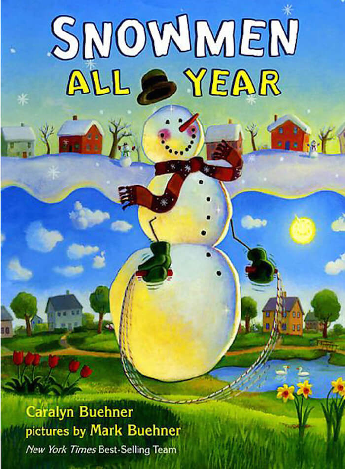 Snowmen All Year book review. Perfect for primary grades!