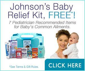 Free PrizePagoda - Johnson's Baby Relief Kit - Free Stuff