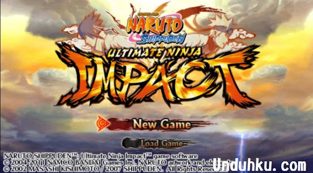 Download Naruto Shippuden Ultimate Ninja Impact ISO PSP