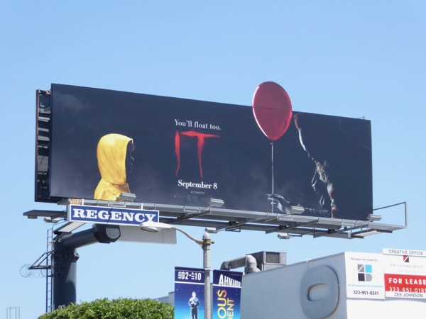 IT movie Balloon extension billboard