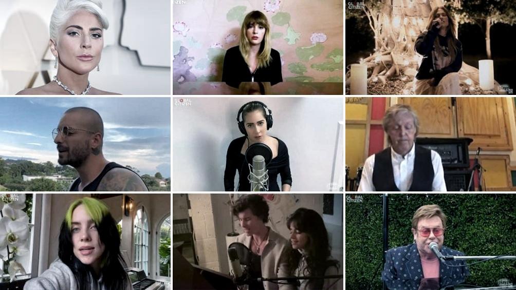 Lanzan disco del concierto benéfico organizado por Lady Gaga y la OMS