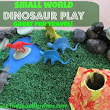 Small Worlds Dinosaur Play for Travel - Poppins Book Nook