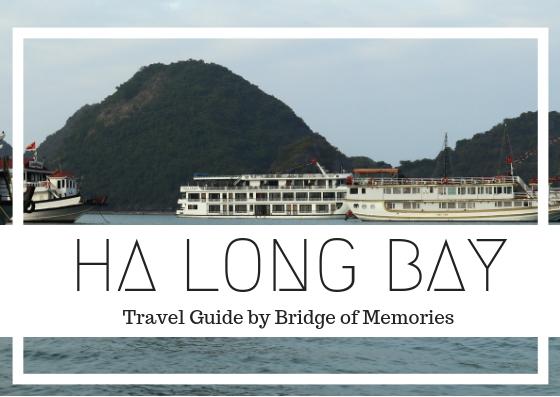 Ha Long bay through an overnight cruise
