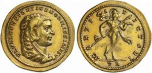 Medallón Romano Constancio Cloro