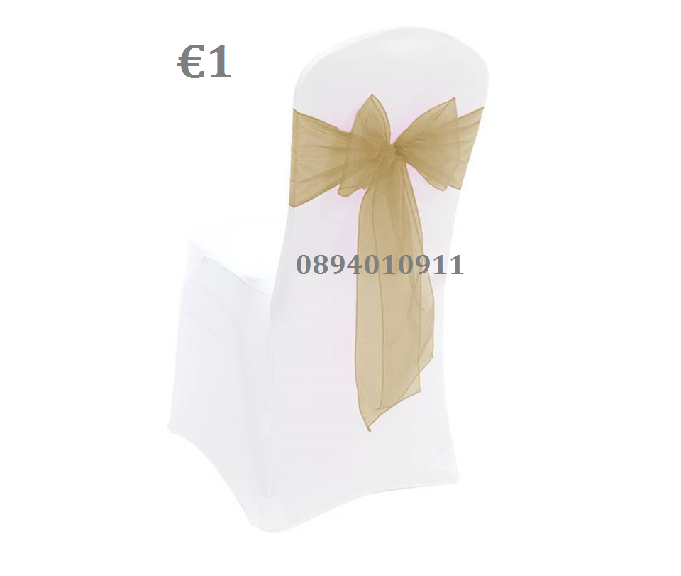 Chair Sash Bow €1