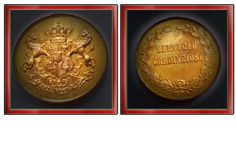 Medalia Serviciul Credincios – model 1 – clasa 1 a