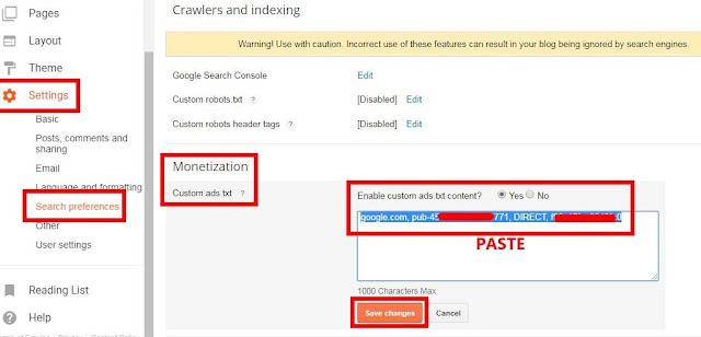 Mengatasi Masalah Iklan Tidak Tampil Akibat Ads.txt di Blogger