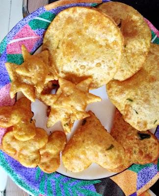 Puri preapared using Ragi and jowar
