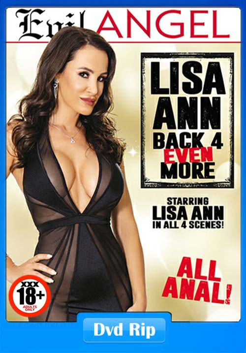 [18+] Lisa Ann Back 4 Even More XXX 2018 Porn DVDRip x264