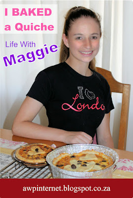 I Baked A Quiche - Life With Maggie - Crystal