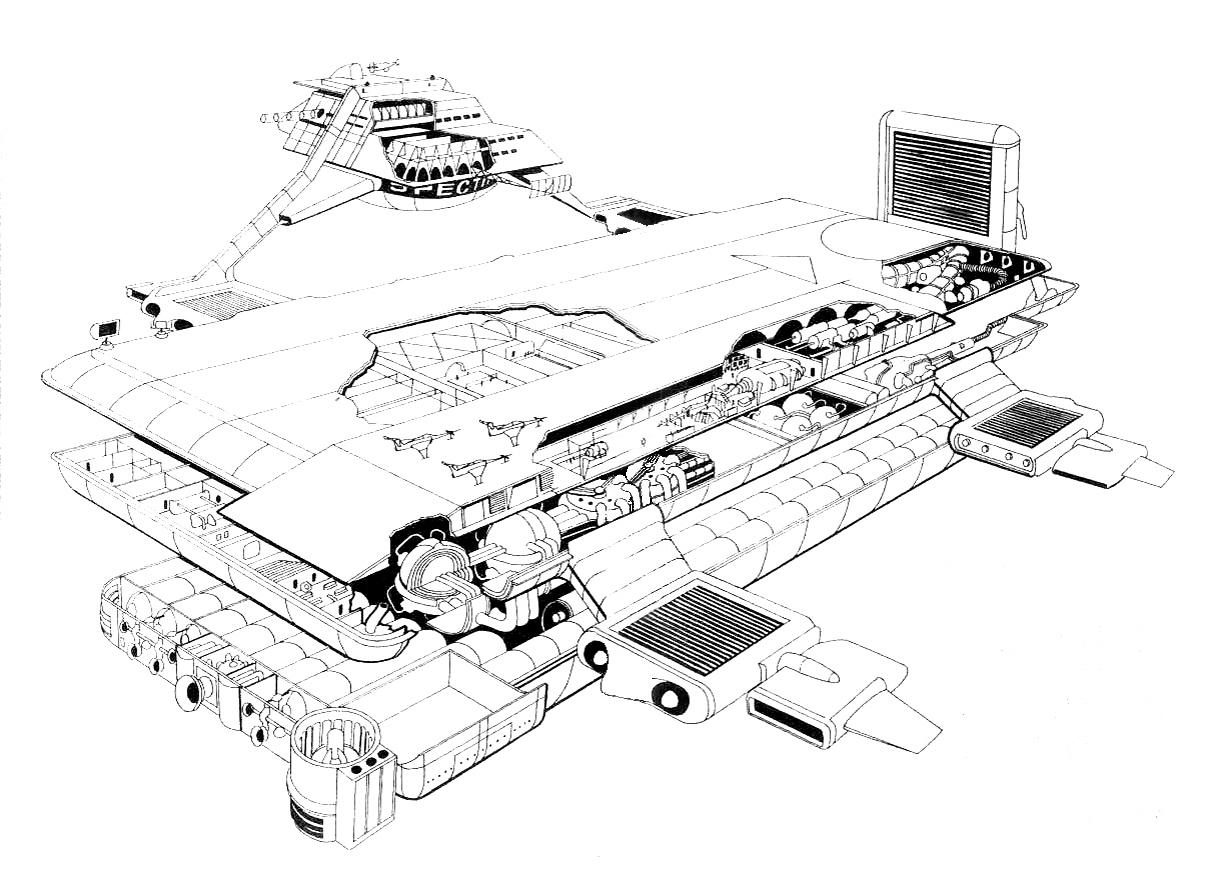 Moonbase Central Cloudbase Cutaway