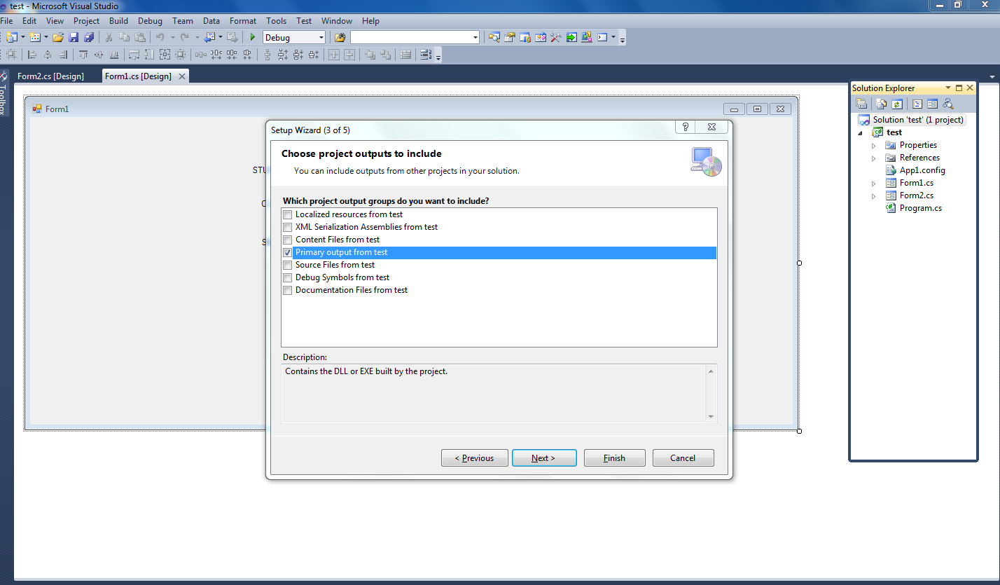 Lalit's Blog: How To Create Setup File( Exe File) From