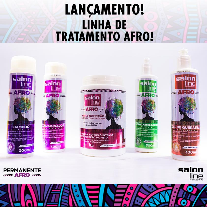 Linha Afro Salon Line