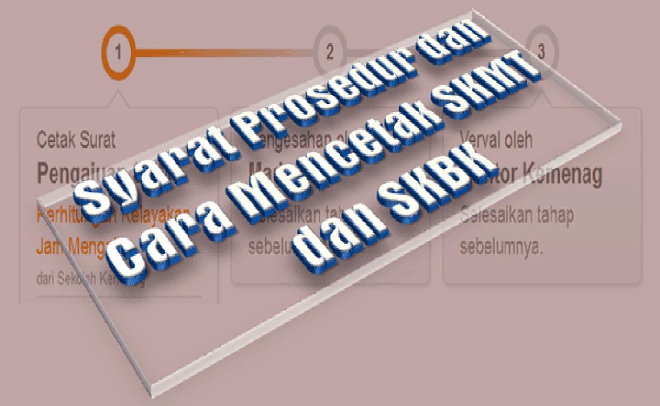 Syarat Prosedur dan Cara Mencetak SKMT dan SKBK