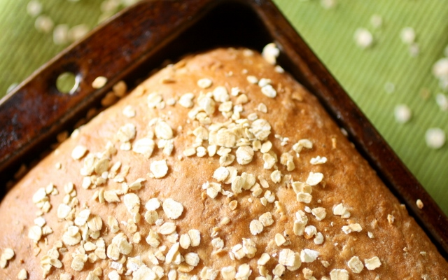 Pan de avena tostada / Toasted oatmeal bread