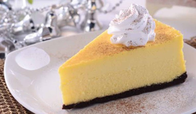 Resep Membuat Eggnog Cheese Cake