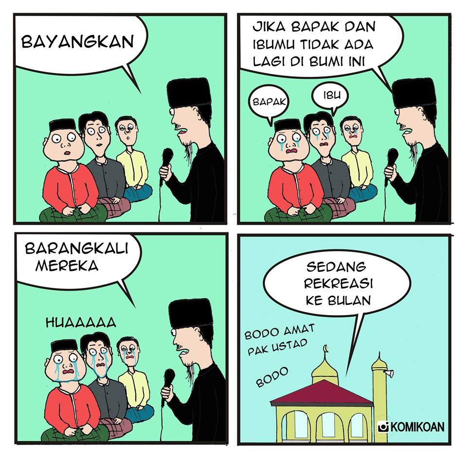 Koleksi gambar meme comic ramadhan