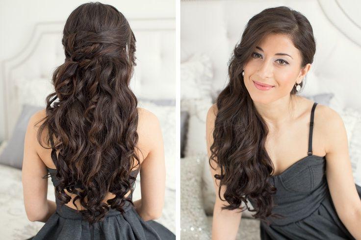Pleasing Prom Hairstyles For Long Hair Niza Crazee Short Hairstyles Gunalazisus