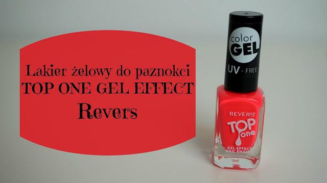 RECENZJA: Lakier żelowy do paznokci | Revers