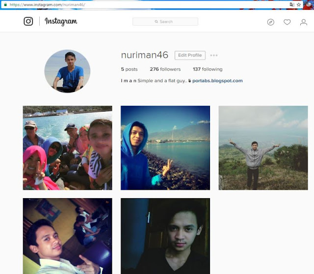 Cara Buka Instagram Tanpa Bluestacks di PC