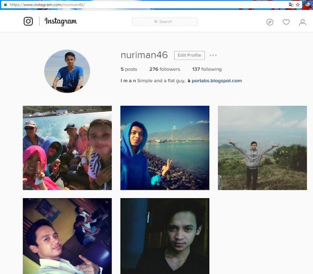 Cara Buka Instagram Tanpa Bluestacks di PC