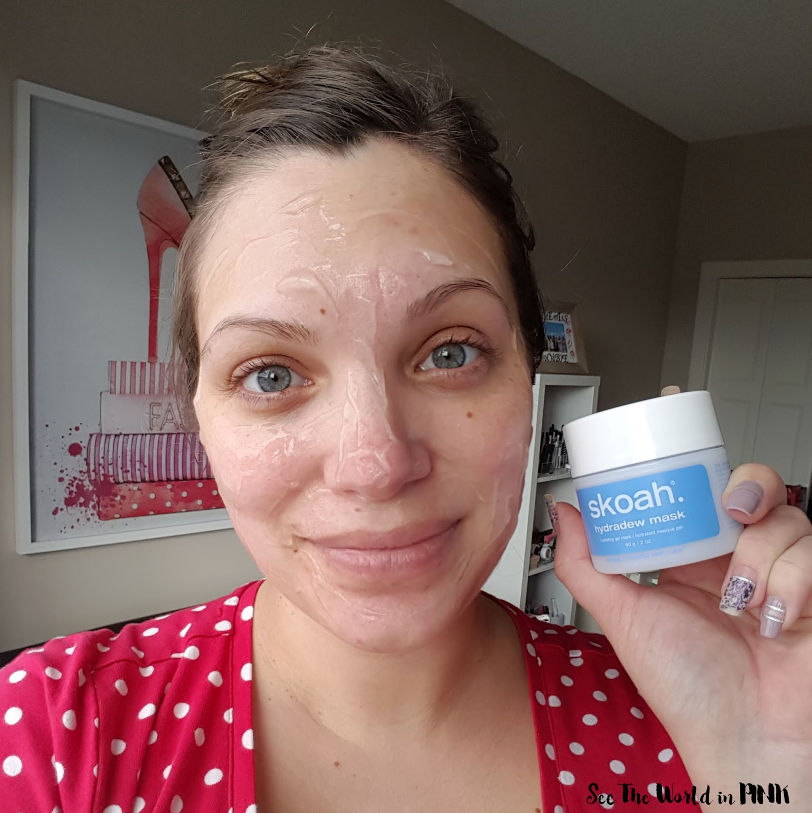 Mask Wednesday - Skoah Hydradew Mask Review + Skoah Calgary Amazing Offer!!!!!!