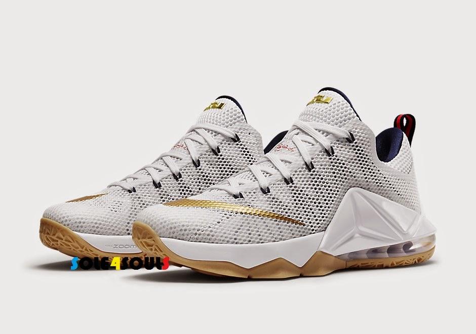 huge selection of 9a664 db365 Nike LeBron 12 Low EP USA