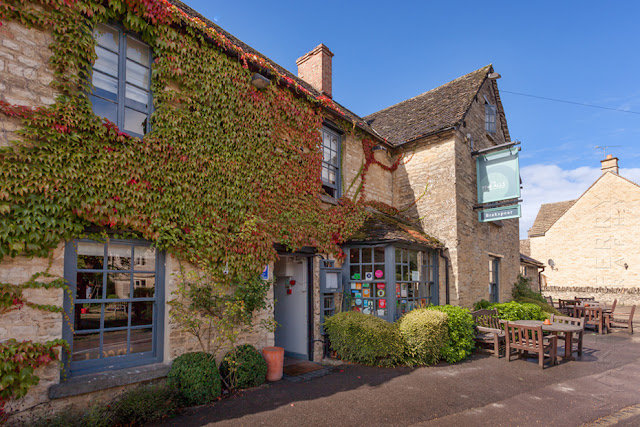 Five Alls pub in the Oxfordshire Cotswold village of Filkins by Martyn Ferry Photography