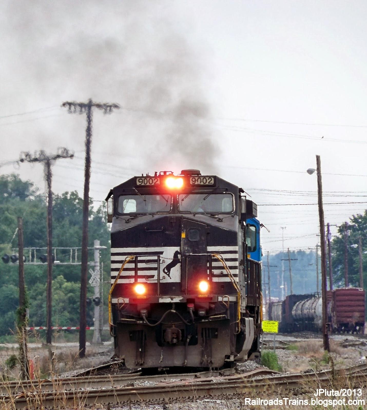 Inside Freight Train Engine - 0425