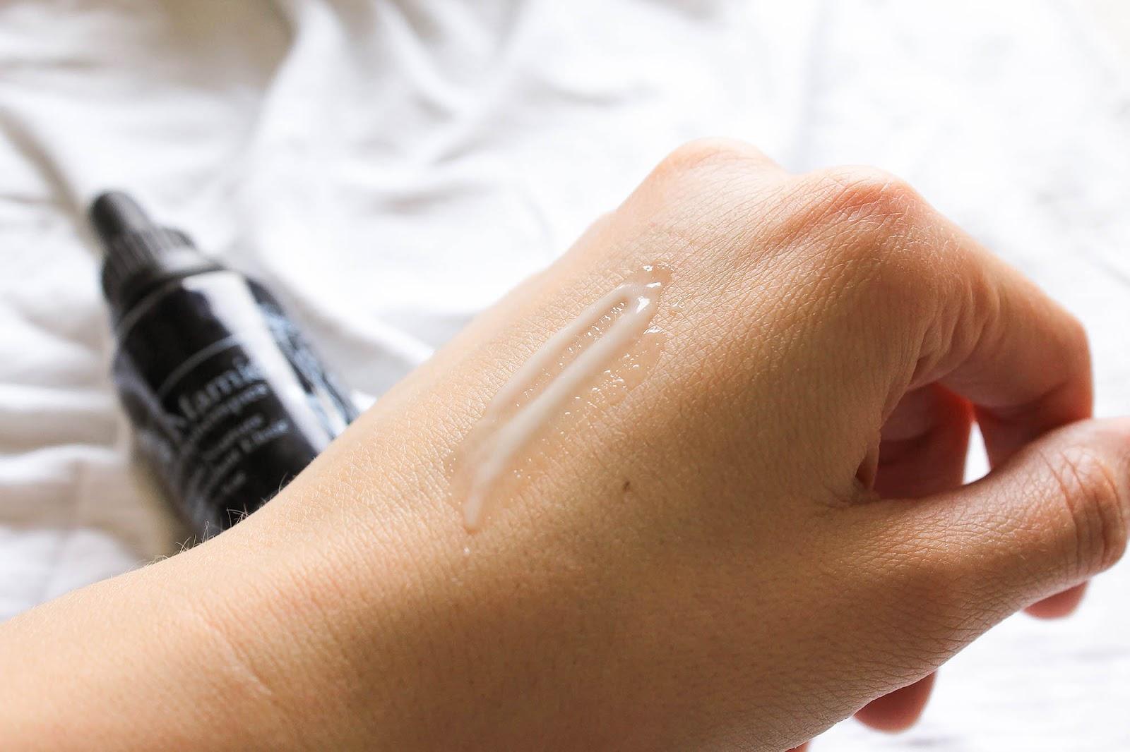 de Mamiel Intense Nurture Antioxidant Elixir Beauty Heroes 2018. Texture. Serum.