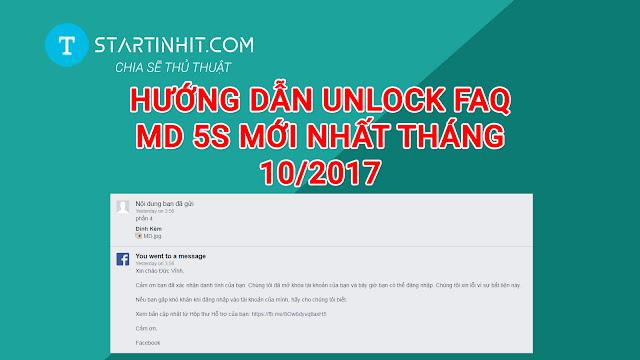 TUT UNLOCK FAQ MD 5S VỀ MỚI NHẤT THÁNG 10/2017