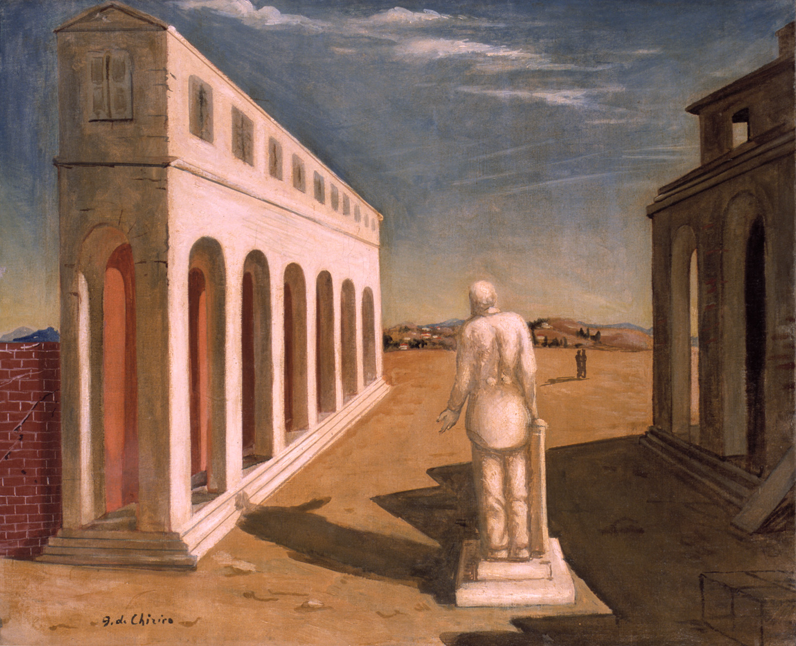 Giorgio De Chirico 1888-1978 | Italian surrealist painter | The Metaphysical art movement