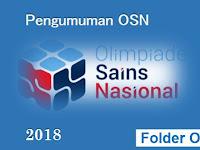 Pengumuman OSN SD 2018 Seleksi Tingkat Provinsi