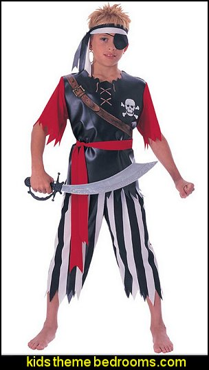 Pirate Costumes - Pirate Decorations  pirate bedrooms - pirate themed furniture - nautical theme decorating ideas - pirate theme bedroom decor - Peter Pan - Jake and the Never Land Pirates - pirate ship beds - boat beds - pirate bedroom decorating ideas - pirate costumes